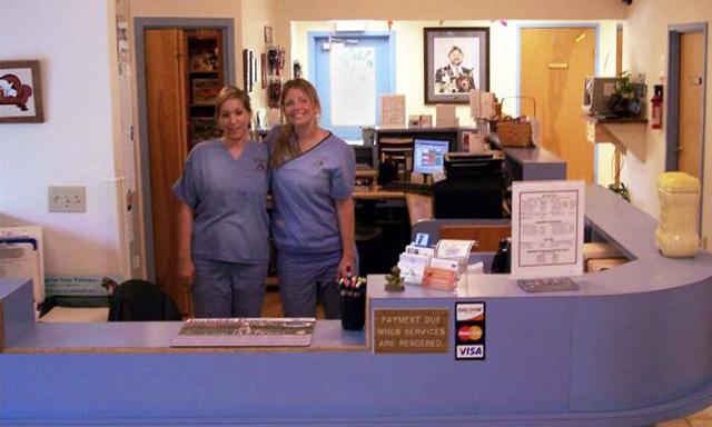 Reception Area at Landisville Animal Hospital