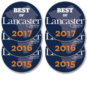 2015 to 2017 Best of Lancaster County - Best Individual Veterinarian and Best Veterinarian Practice
