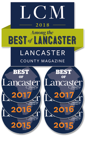 2015 to 2018 Best of Lancaster County - Best Individual Veterinarian and Best Veterinarian Practice